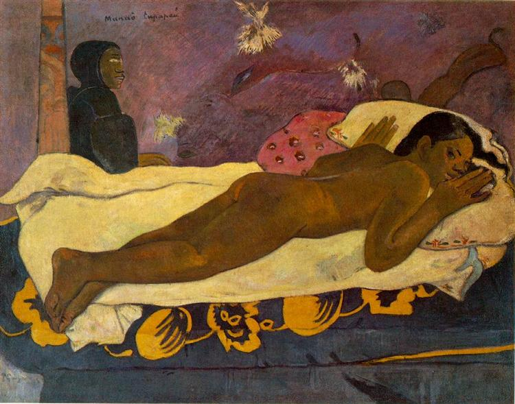 Spirit of the Dead Watching - Paul Gauguin