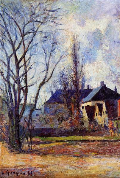Winter's end, 1885 - Paul Gauguin