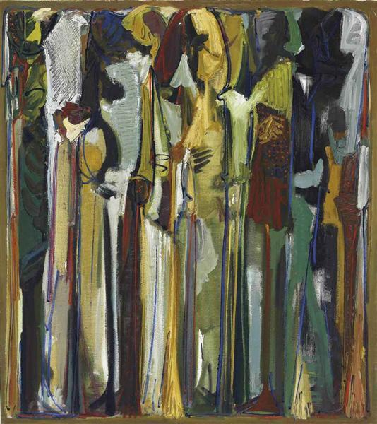 Dans la Nuit or Nostalgie, 1986 - Paul Guiragossian