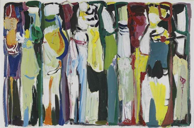 La Grande Marche, 1987 - Paul Guiragossian