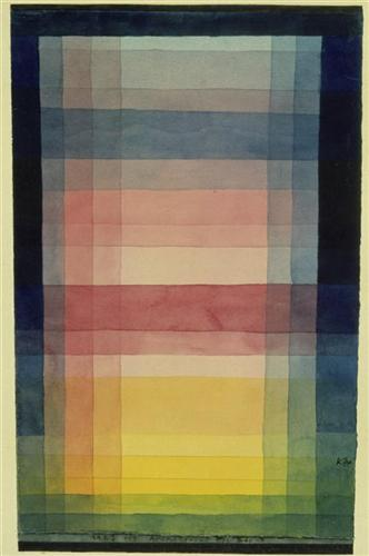 Architecture of the Plain by Paul Klee