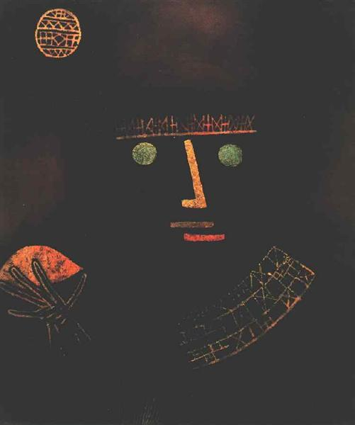 Black Knight, 1927 - Paul Klee
