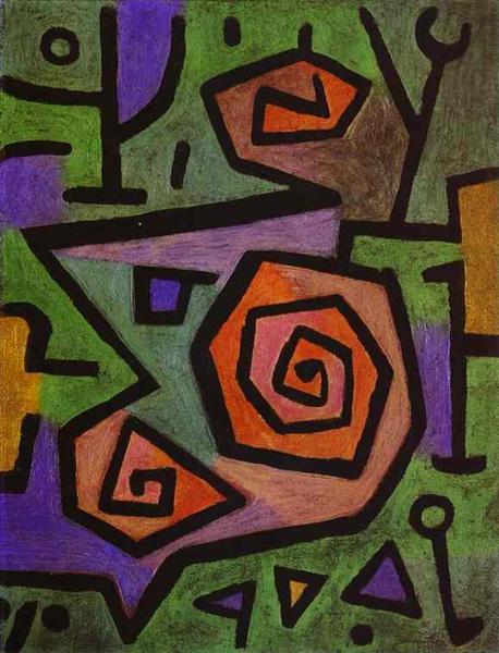 Heroic Roses, 1938 - Paul Klee