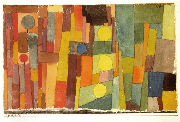 In the Style of Kairouan, 1914 - Paul Klee