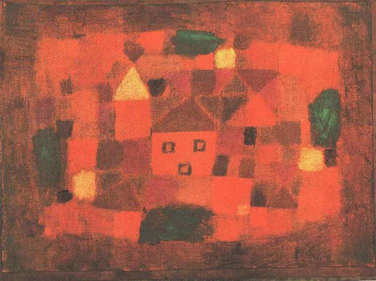 Landscape with Sunset, 1923 - Paul Klee