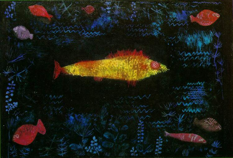 The Goldfish, 1925 - Paul Klee
