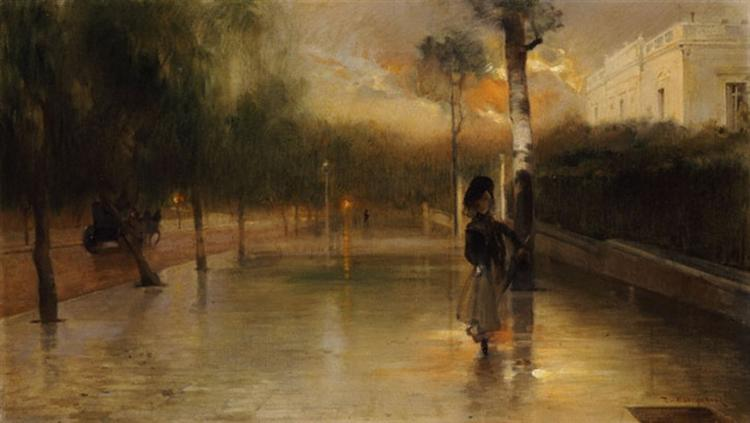 After the Rain Queen Street Wisdom - Paul Mathiopoulos