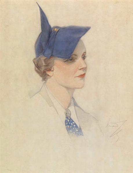 Portrait of a Woman - Paul Mathiopoulos
