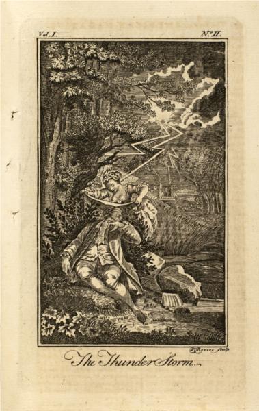 Thunder Storm, 1774 - Paul Revere