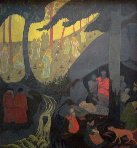 Celtic Tale, 1894 - Paul Serusier