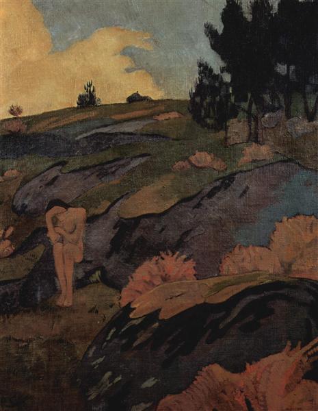 Melancholia, or Breton Eve, c.1890 - Paul Serusier