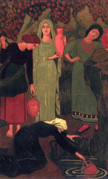 The Wait at the Well, 1897 - Paul Serusier