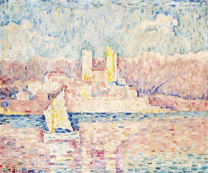 Cap d'Antibes, 1919 - Paul Signac