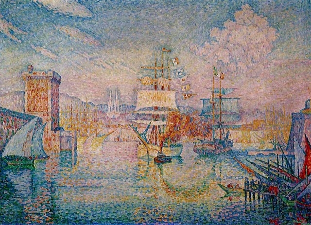 The Entrance to the Port of Marseille - Paul Signac