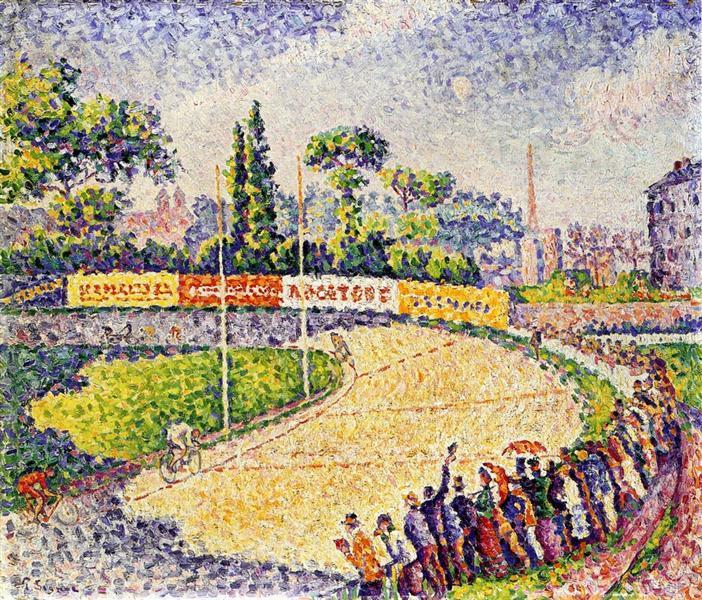 The Velodrome, 1899 - Paul Signac