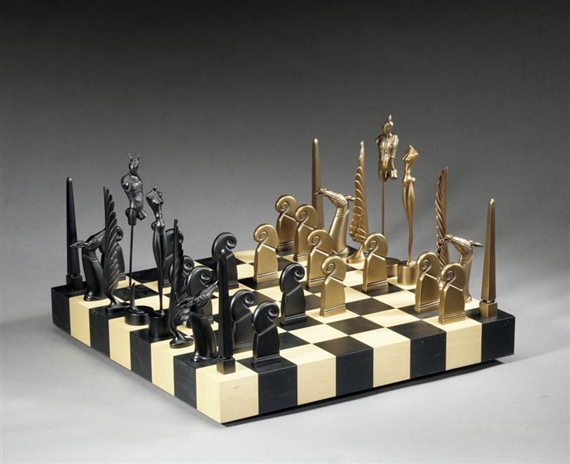 A Game of Chess - Paul Wunderlich