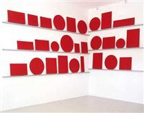 Catalogue #1 (Rouge-Crestet) - Pedro Cabrita Reis