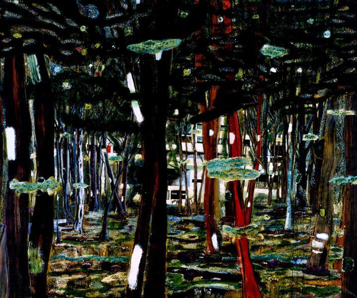 Concrete Cabin - Peter Doig