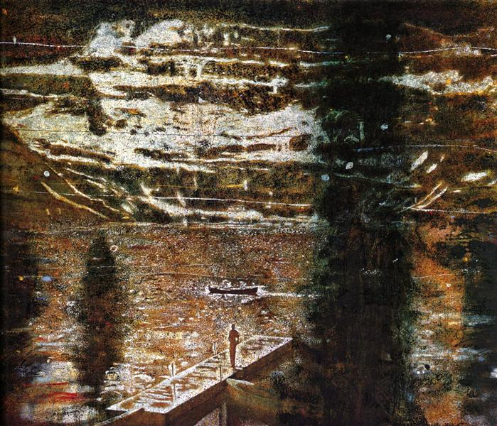 Jetty, 1994 - Peter Doig