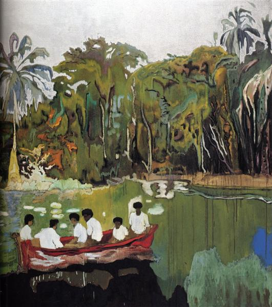 Red Boat (Imaginary Boys), 2004 - Peter Doig