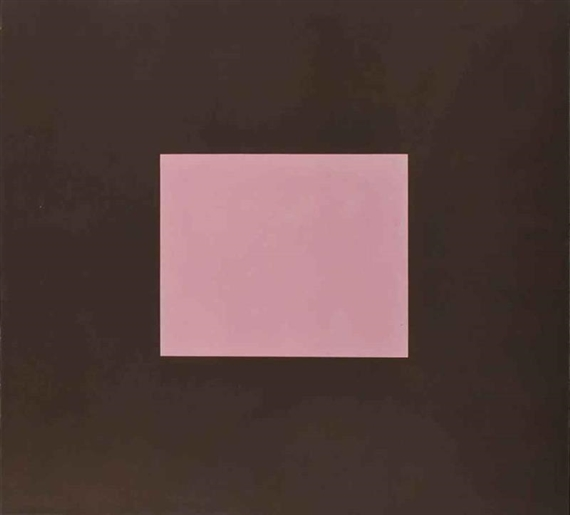 Pink Colour with Brown, 1986 - Peter Joseph