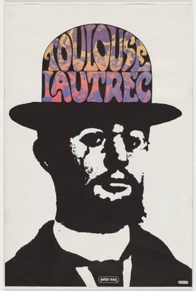 Toulouse Lautrec, 1966 - Peter Max