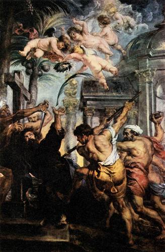 Martyrdom of St. Thomas - Peter Paul Rubens