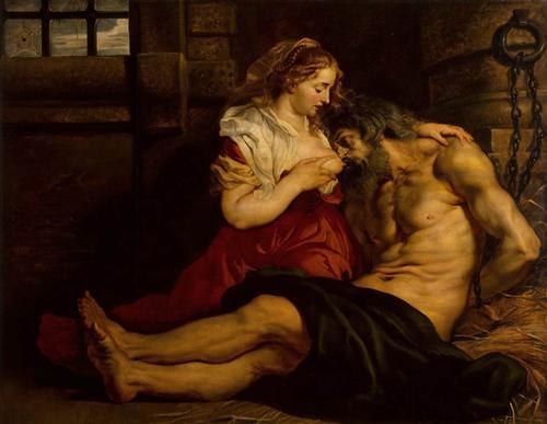 картина рубенса дочь кормит отца грудью