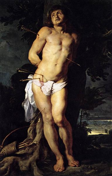 St. Sebastian, 1614 - Peter Paul Rubens