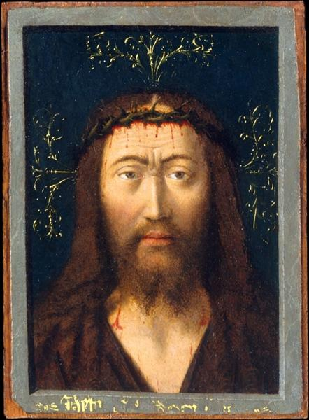 Head of Christ, 1445 - Петрус Кристус