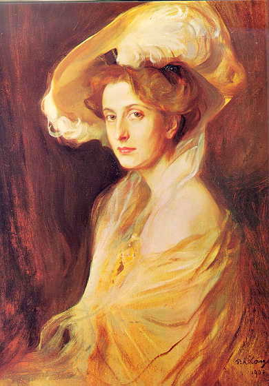 Princess Louise Mountbatten, 1907 - Philip de Laszlo