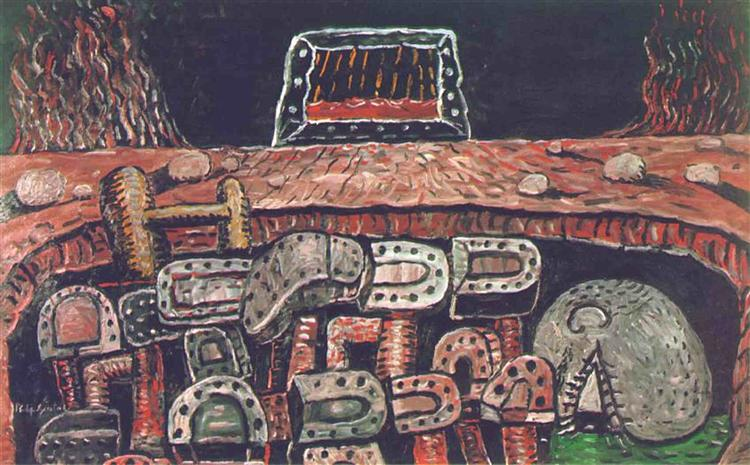 The Pit, 1976 - Philip Guston
