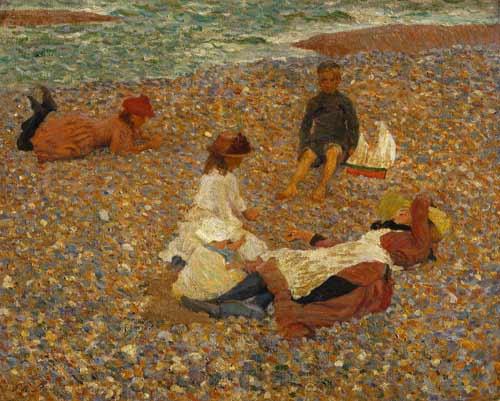 Knucklebones, Walberswick, 1888 - 1889 - Philip Wilson Steer
