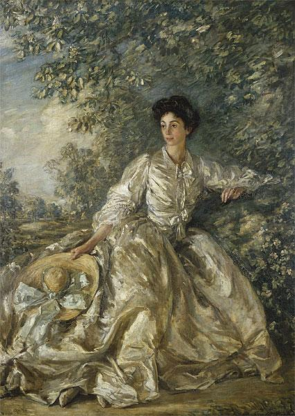 Mrs Violet M. Hammersley, 1906 - 1907 - Philip Wilson Steer