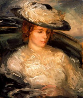 Portrait of Miss Scobell in a Bathchair (The Convalescent), 1898 - Philip Wilson Steer