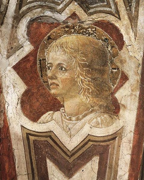 Ангел, c.1452 - Пьеро делла Франческа