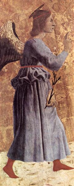 Archangel Gabriel, 1445 - 1462 - Piero della Francesca