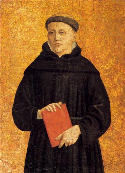 Augustinian Saint, c.1460 - Piero della Francesca