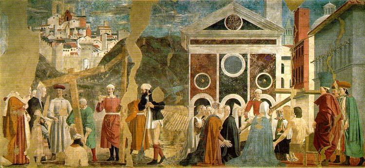Finding and Recognition of the True Cross, 1458 - 1466 - Piero della Francesca