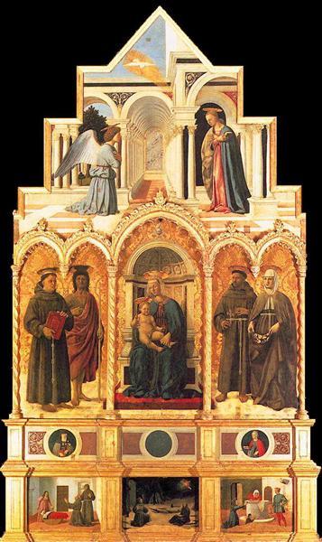 L'Annonciation, 1469 - Piero della Francesca