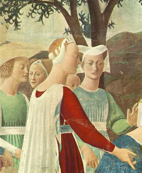 Procession of the Queen of Sheba (detail), 1452 - 1466 - Piero della Francesca