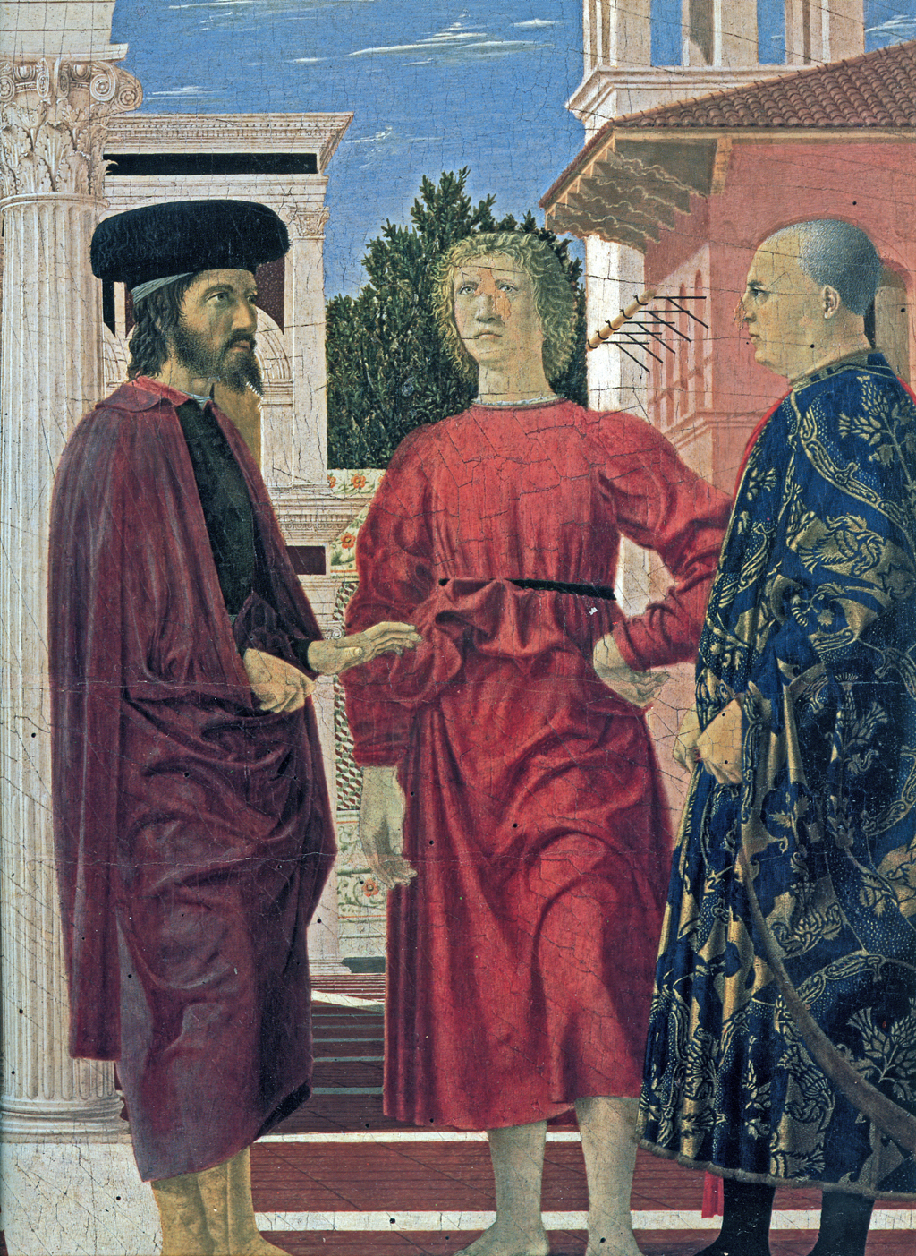 piero della francesca and the use Piero della francesca (italian pronunciation: [ˈpjɛːro della franˈtʃeska] listen (help info) c 1415 – 12 october 1492) was an italian painter of the early renaissanceas testified by giorgio vasari in his lives of the most excellent painters, sculptors, and architects, to contemporaries he was also known as a mathematician and geometer.