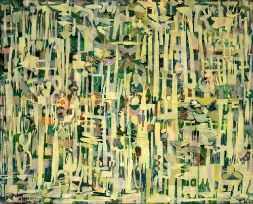Les hautes herbes, 1951 - Pierre Alechinsky