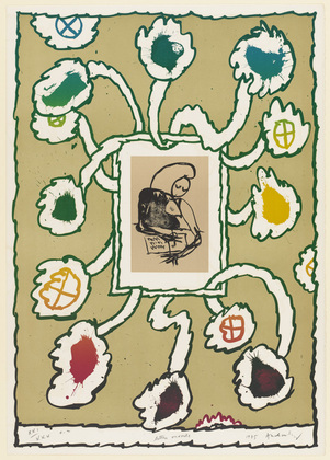 Open Letter (Lettre ouverte), 1975 - Pierre Alechinsky