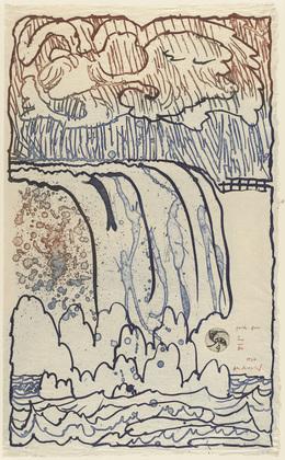 Parapet (Garde-fou), 1977 - Pierre Alechinsky