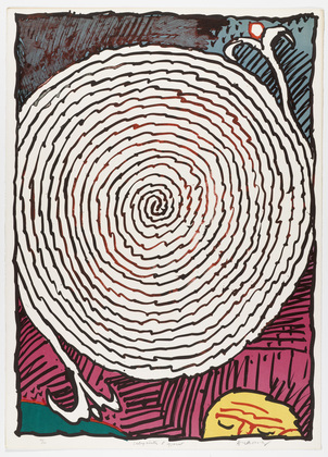 Plate IV from the portfolio Ceremonial Labyrinths (Labyrinthes d'apparat), 1972 - П'єр Алешинський