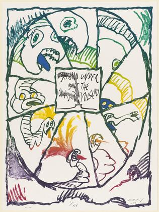 Under the Volcano, 1977 - Pierre Alechinsky