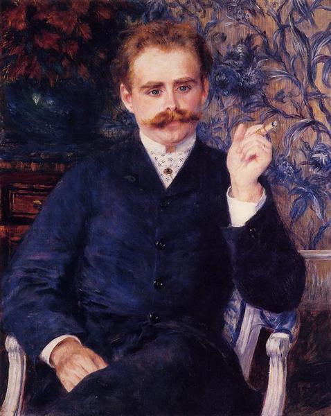 Albert Cahen d`Anvers, 1881 - Pierre-Auguste Renoir