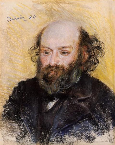 Paul Cezanne, 1880 - Pierre-Auguste Renoir