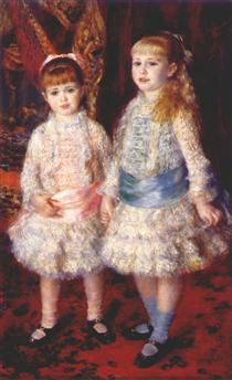 Rosa e Azul - Pierre-Auguste Renoir
